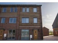 4 BED TERRACED HOUSE - 3 BATHROOMS, 2 PARKING SPACES CLOSE TO GLENFIELD HOSPITAL £1200 PCM