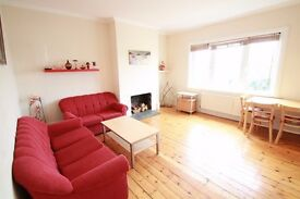 Spacious 1 bedroom flat with off-street parking and massive shared garden
