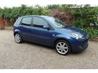 FORD FIESTA ZETEC BLUE EDITION 1.4 5 DR HATCHBACK 08 REG