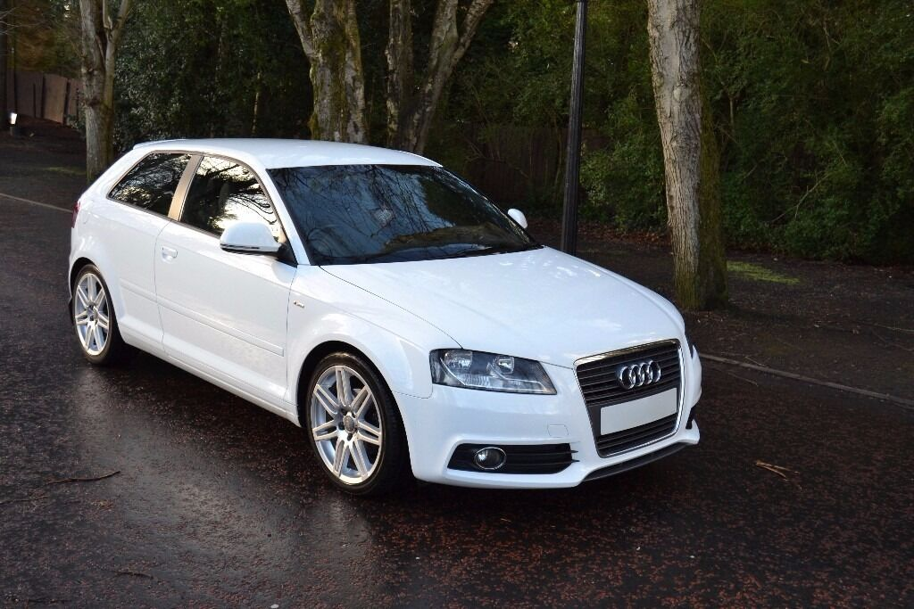 audi a3 s line 2009 1 6 tdi ibis white 3 door in ballymena county antrim gumtree. Black Bedroom Furniture Sets. Home Design Ideas