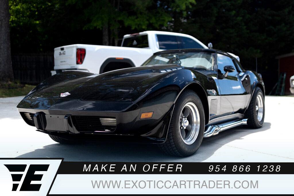 1978 Black Chevrolet Corvette   | C3 Corvette Photo 1