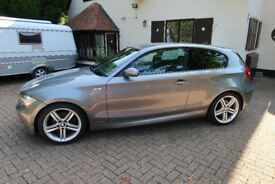BMW 120D Msport, Start Stop, 19inch Alloys, Cruise control, New Battery and Tyres. MOT Jun 2019.