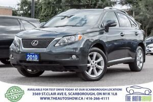 2010 Lexus RX 350 NAVI Cooled Seats Sunroof