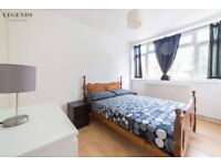 DOUBLE SINGLE USE ROOM IN SHADWELL* SPACIOUS FULL FURNISHED