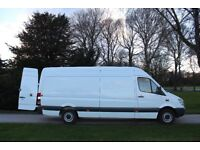 Man and Van House Move / Furniture Removals Service - Van with Driver Hire