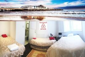 HOTEL FAMILY EN-SUITES FOR ONE NIGHT - ST MICHAEL'S ROAD - BOURNEMOUTH Accommodate 4 people. £150