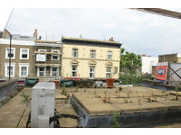 TWO double bedroom flat, with kitchen living room and private roof terrace to rent in Islington N1