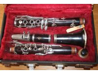 Boossey and Hawkes Marlborough wooden clarinet