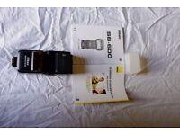 Nikon SB600 flash
