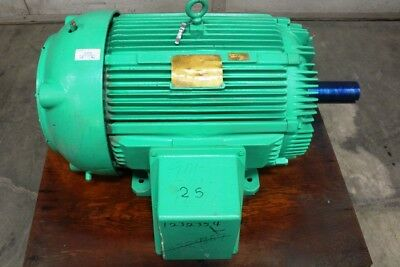 100 Hp Siemens-allis Motor 880 Rpm 445t Frame 230460 Volt Tefc