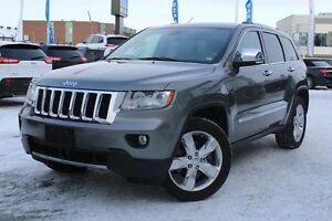 2013 Jeep Grand Cherokee OVERLAND PLUS 4X4 *CUIR/TOIT/GPS/GROUPE