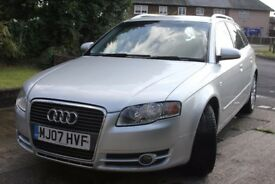 2007 AUDI A4 2.0 SE ESTATE AUTOMATIC 5dr SILVER