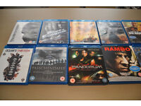 19 Blu-Rays for sale and 3 DVD Box sets, All in great condition