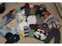 * MASSIVE CLOTHES BUNDLE * BOYS age 12 - 18months (1-1.5y) 41 ITEMS!!!