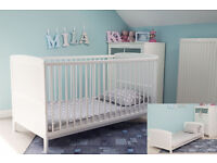 BRAND NEW WHITE COT BED AND BRAND NEW MATTRESS!!!