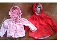 18-24 mths Girls summer jackets £2 each