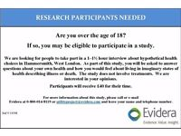 Participants Needed for Paid Research Study