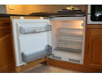 Howdens HJA6312 integrated larder fridge