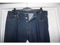 """Men's Levi 501 Jeans 36 - 38""""W / 31""""L Immaculate Condition"""