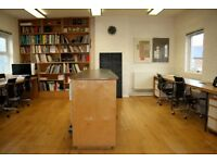 WIMBLEDON SW19 OFFICE SHARE - IDEAL LOCATION NEAR TO THE STATION