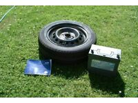 Nissan Micra Spares Battery Tyre and Wheel