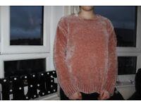 pink sweater very sweet