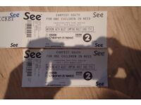 Two adult full weekend camping tickets for Carfest South