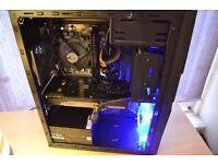 Gaming PC - i3 4130 - 16GB DDR3 - GTX 760 OC- 128GB SSD - 500GB HDD - WIFI - BUILT 05/08/16 + GAMES