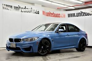 2015 BMW M3 COMP PACK - NAV - HEADS-UP DISP. - CAMERAS