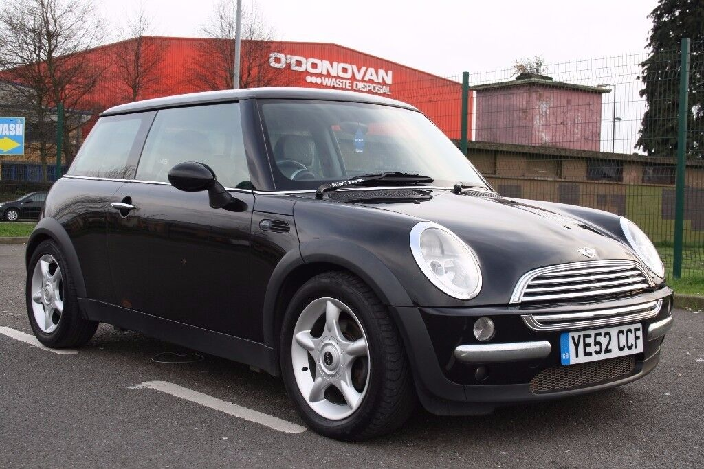 2002 MINI COOPER HATCH, 4 OWNER, 3 MONTHS WARRANTY. LEATHER, LONG MOT. GREAT RUNNER, PX WELCOME