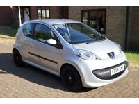 Peugeot 107 with the added extra of air-con. Great 1st time/city car. Cheap to run and tax.