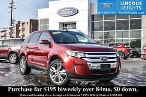 2014 Ford Edge LIMITED AWD - LEATHER - BLUETOOTH - HEATED FRONT