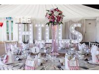 Wedding vase centrepiece floral bouquet aritificial arrangement centre piece