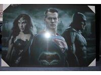 Batman vs Superman Canvas Photo
