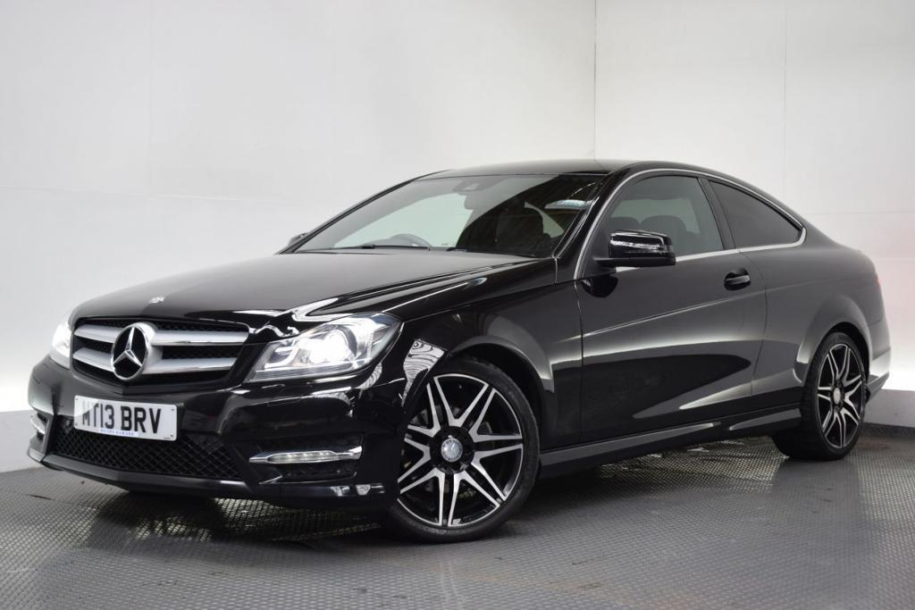 mercedes benz c class 2 1 c220 cdi blueefficiency amg sport plus 2d 168 black 2013 in hilton. Black Bedroom Furniture Sets. Home Design Ideas