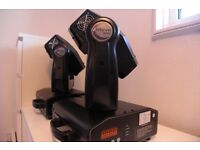 2 x Imove 5w Moving Head lights - Can Deliver in Glasgow