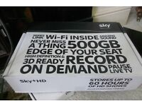 new never used sky hd box