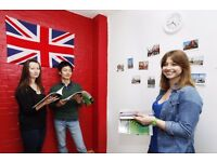 English lessons with experienced teacher in school in North London