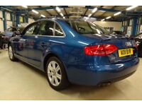 Audi A4 TDI QUATTRO SE (scuba blue metallic) 2011