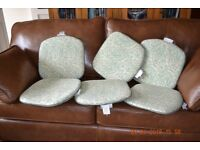 Seat pads suitable garden chairs