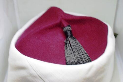 Fez Authentic Azhari Hat,Shiek Emama عمة IMAM Quran ISLAM Qari specialtailor