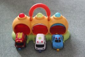 ELC -Emergency centre with 3 Magnetic vehicles