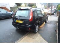 Ford Fiesta 2007 (57) 1.4tdci 5 door with towbar, FSH, new MOT and new Cambelt