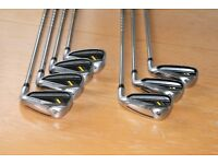 Set of Taylormade Rocketbladez Irons, 4-PW, regular shaft, in great condition