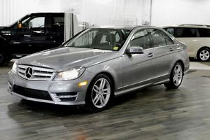 2013 Mercedes-Benz C-Class C 300 4MATIC, Moonroof, AWD, No Accid