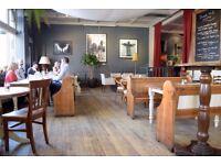 Experienced Bar & Floor Staff required for Fantastic Marylebone Gastropub Immediate Starts.