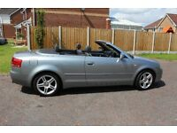 Audi A4 Cabriolet,A beautiful car which has given me many years of enjoyment! Just over 66,000 miles