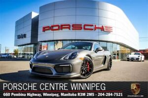 2016 Porsche Cayman GT4 Certified Pre-Owned With Warranty Availa