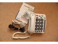Telephone with clearsound