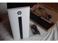 BRAND NEW HP PAVILION PC, A10-7850K Quad Core, 8GB RAM, 120GB SSD, Windows 10, HDMi, Gaming, R7 GPU
